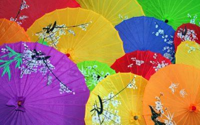 Découvrir la célèbre ombrelle traditionnelle chinoise