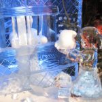 La sculpture sur glace